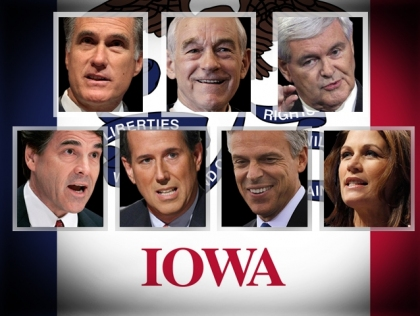 Photo of 2012 Iowa Republican Candidates for President